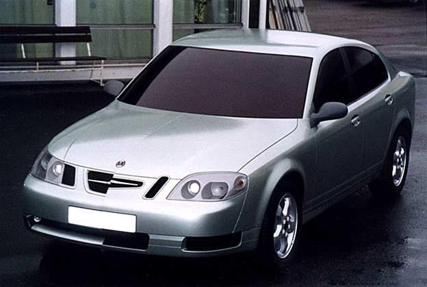 Finished Theme P 'Progressive' 1:1 model 1998, looks like Opel Vectra