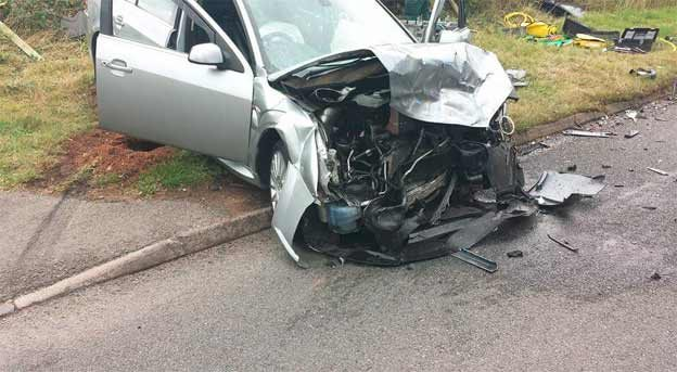 Ford Mondeo who caused the accident