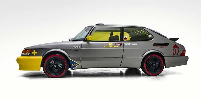 Saab 900 Turbo SPG Viggen