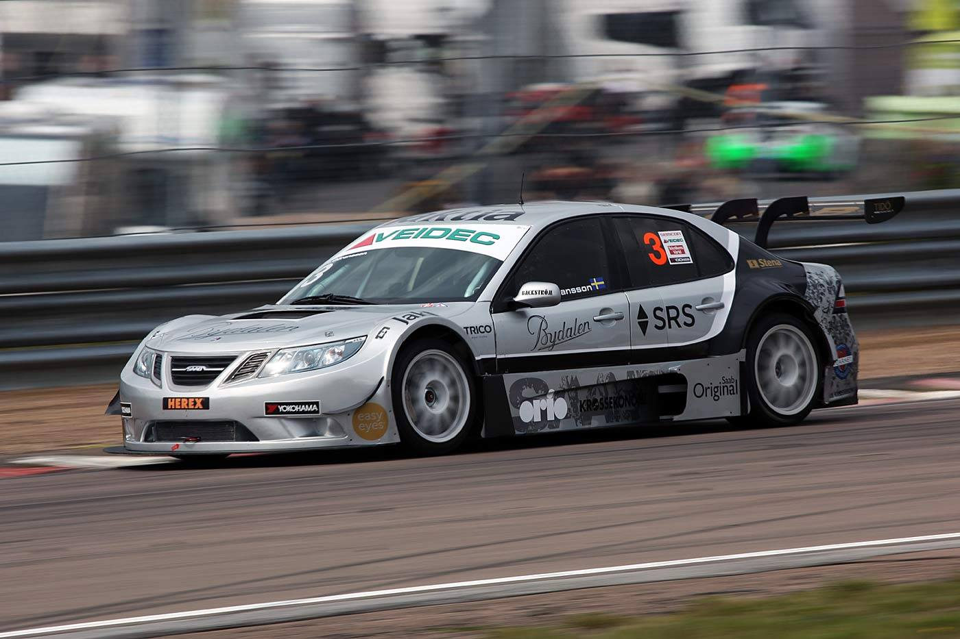A Bad Weekend for Saab drivers in STCC