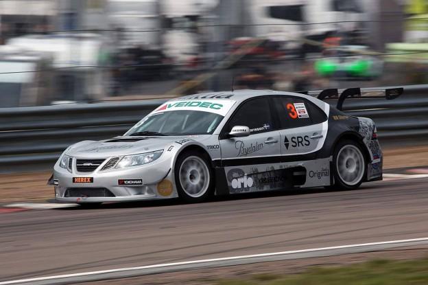 Richard Göransson in Saab 9-3 STCC