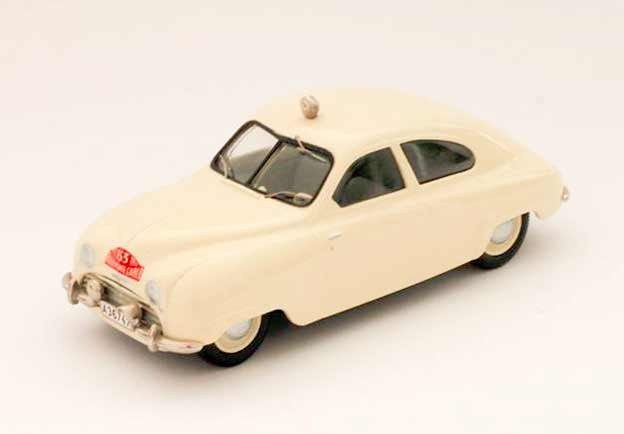 Grety Molander's Saab - scale model 1/43