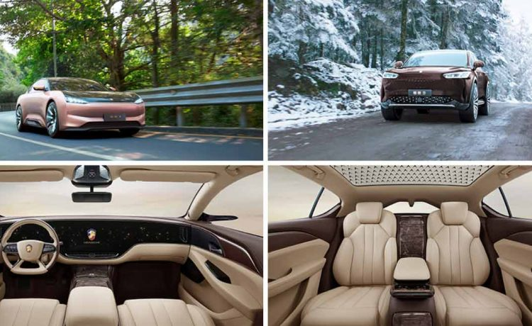 HENGCHI 1 has realized road running and had its interiors released