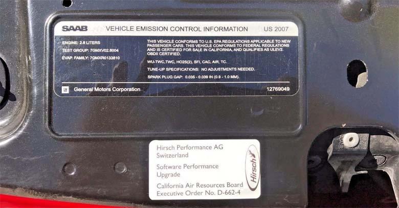 Hirsch Performance AG upgrade certificate