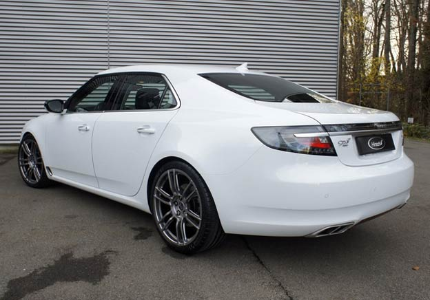 Takata Airbag >> Reproduction of Hirsch Performance Quad exhaust for Saab 9 ...