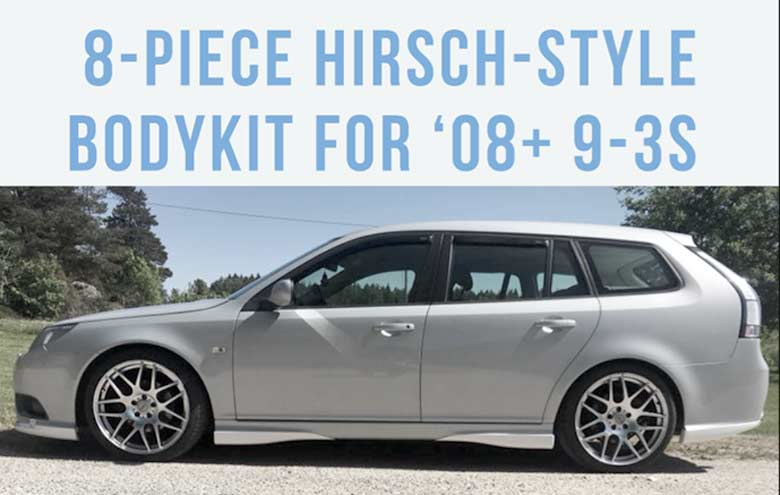 Hirsch style bodykit for Saab