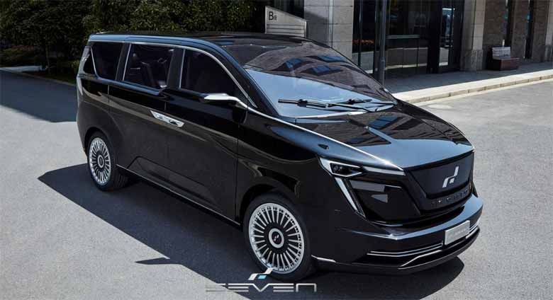 ICONIQ Motors unveiled its e-MPV Model SEVEN