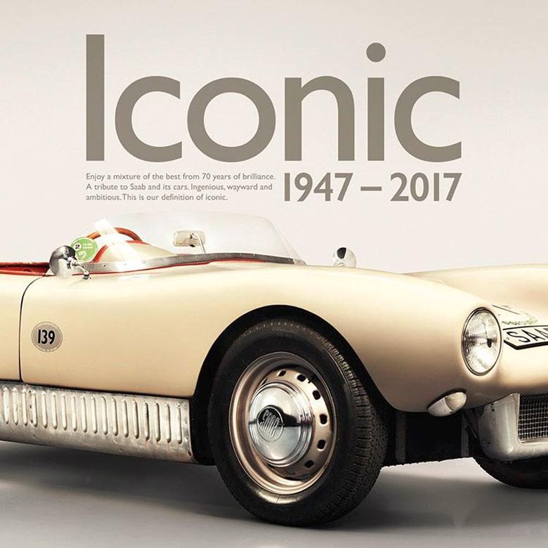 Iconic cars 1947 - 2017 - Saab history
