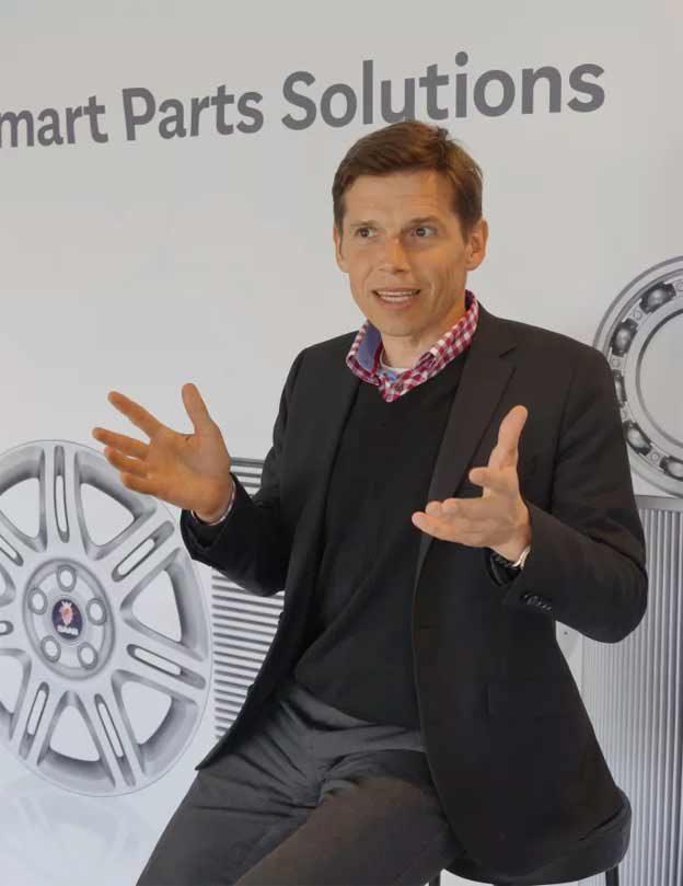 Jonas Tegström, CEO, Orio AB