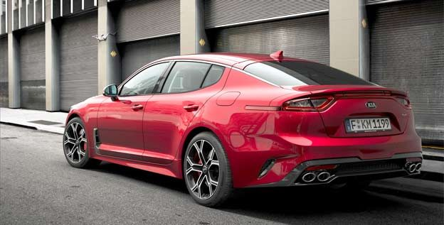 Kia Stinger GT performance saloon