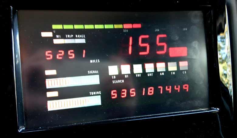 Knight Rider Saab console