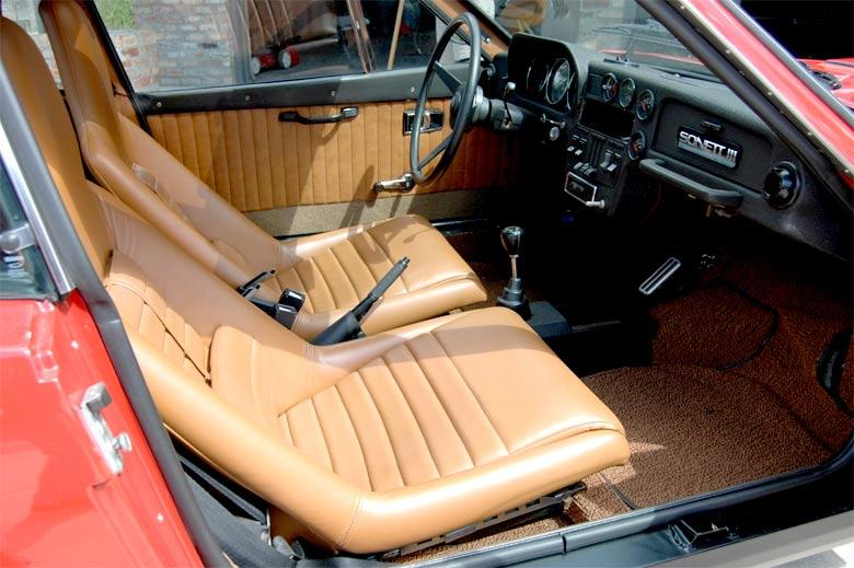 LIke New - Saab-Sonett III interior