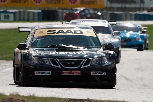 Linus Ohlsson in Saab 9-3