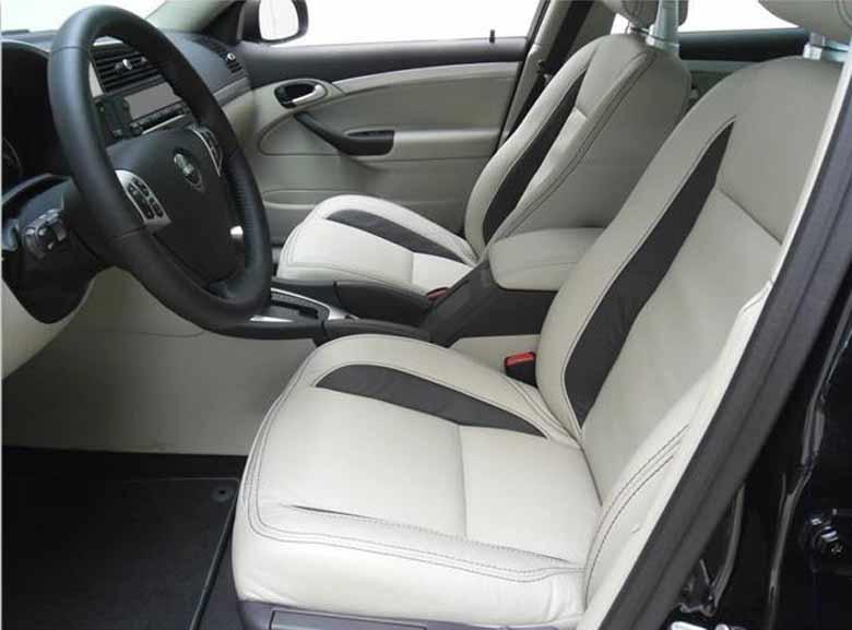 MY2014 Saab 9-3 interior