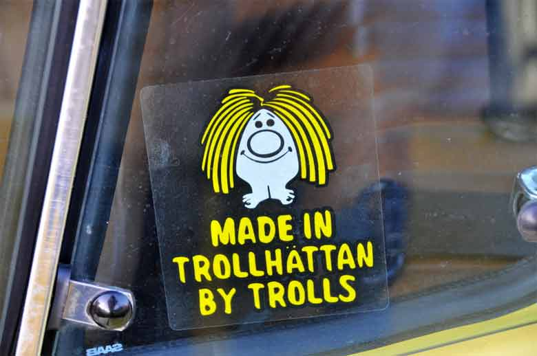 """Made in Trollhatten by Trolls"" stisker via Flickr by FaceMePLS"