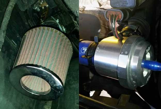 Maptun recircualtin dump valve