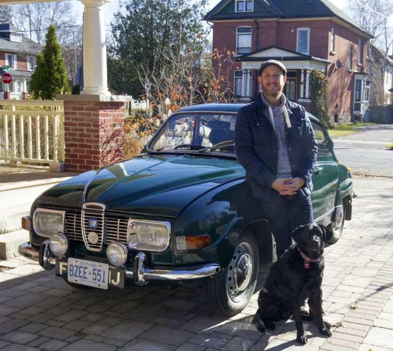 Matt's Saab 96
