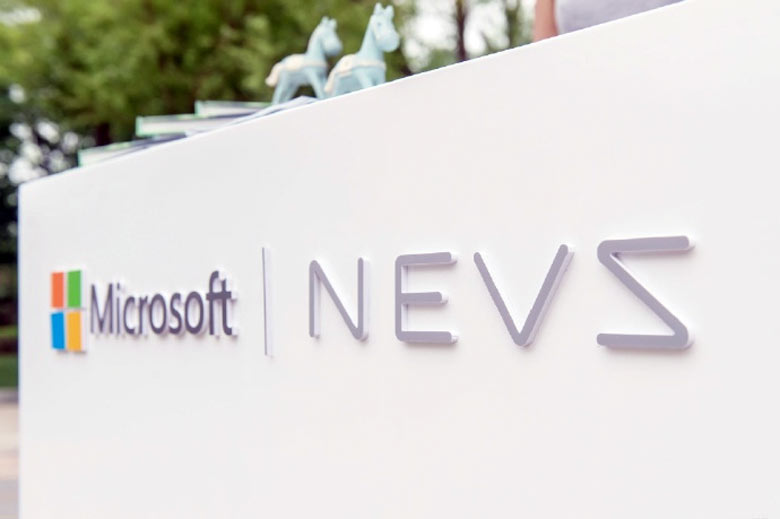 Microsoft NEVS cooperation