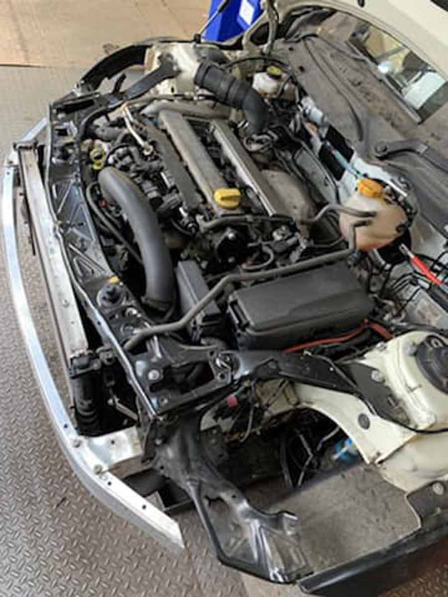 Mini f56 with Saab engine