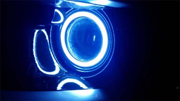 Morimoto Angel Eyes perfectly fit at the position fog lamps