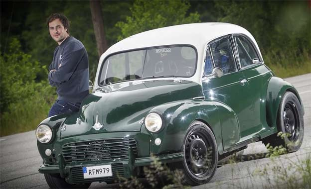 Morris Minor 1956 with Saab engine