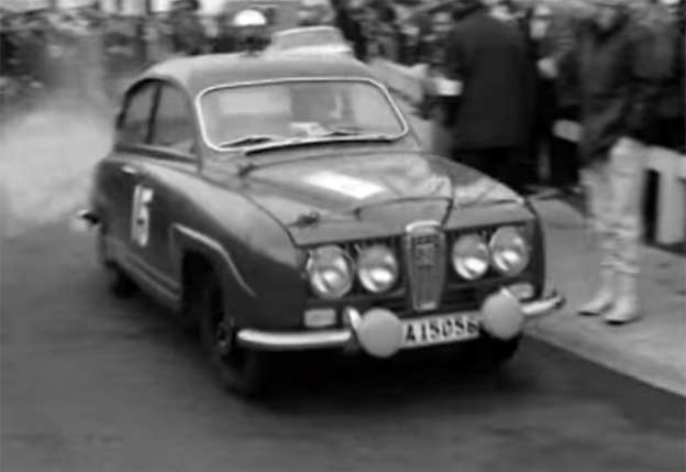 Saab around Britain R.A.C. Rally (1965)