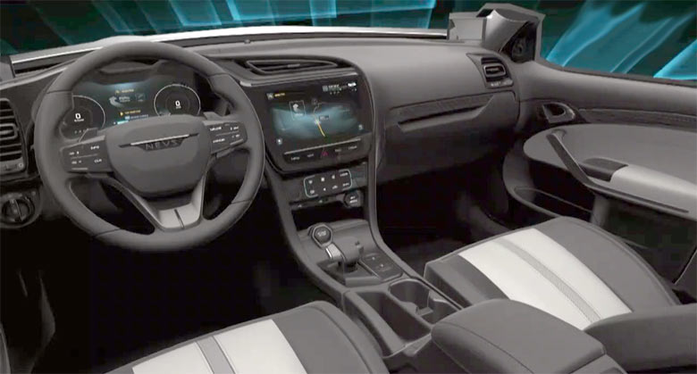 A Sneak Peek At Nevs 9 3 Interior And Dashboard