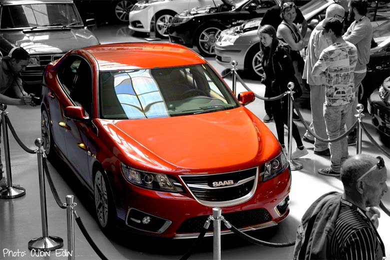 SAAB NEVS 9-3 Turbo edition (Photo: Albin Edin)