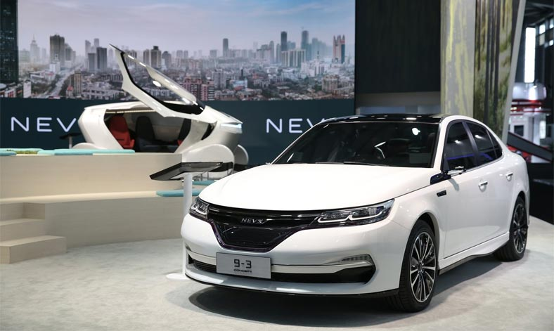 Nevs 9 3 And Nevs 9 3x New Ev Concepts Officially Presented