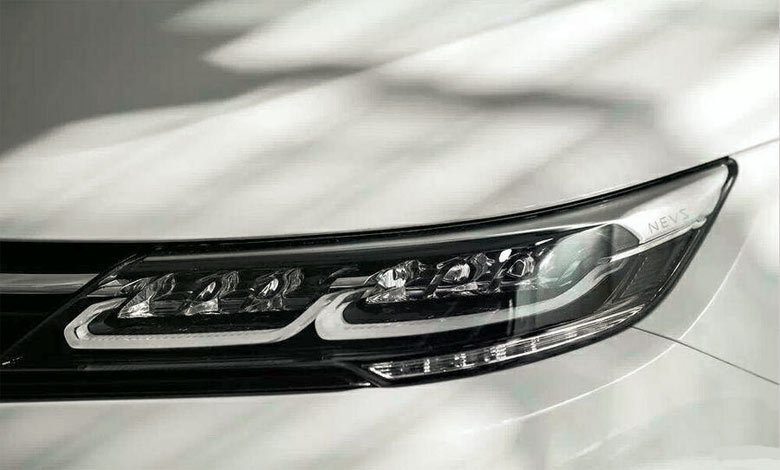 NEVS 9-3 headlights