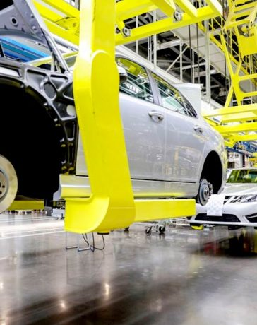Evergrande Tianjin production base assembly workshop