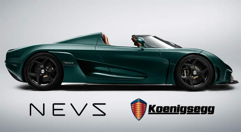 Nevs invests 150 million euros in Koenigsegg!