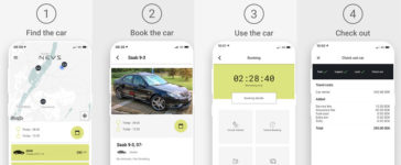 NEVS SHARE - NEVS launches test car sharing service in Stockholm 5