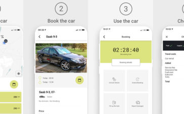 NEVS SHARE - NEVS launches test car sharing service in Stockholm 1