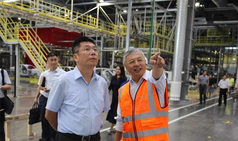 New NEVS factory in China