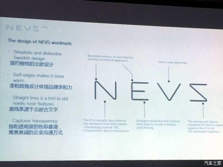 NEVS logo presentation