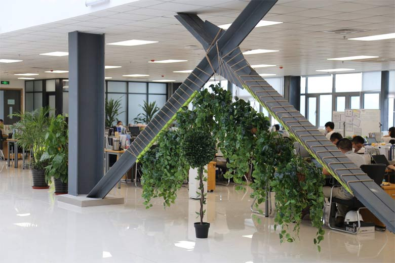 NEVS office in China