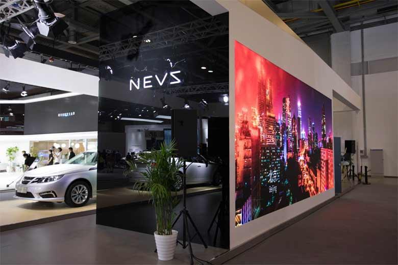 NEVS stand