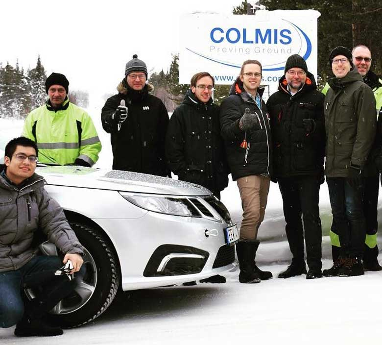 NEVS testing at Colmis
