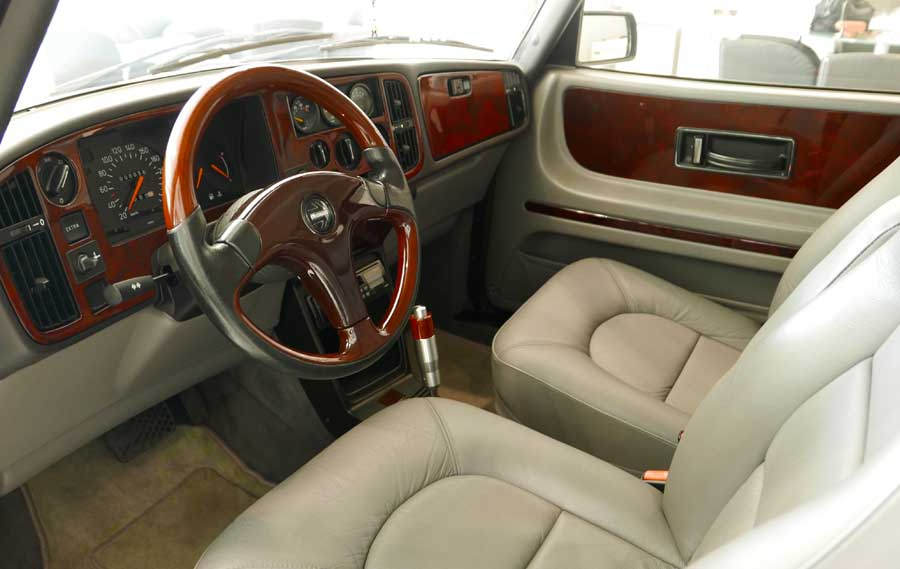 New Interior in Saab 900S