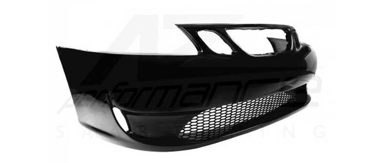 "New SAAB 9-3 front bumper with ""Hirsch"" style lower grill by A-Zperformance"
