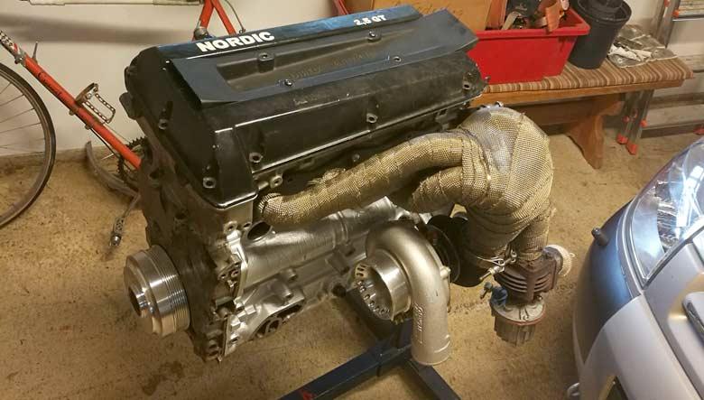 Saab Nordic 2.5 engine