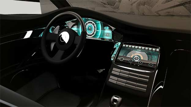 OLED infotainment screens by Swedspot