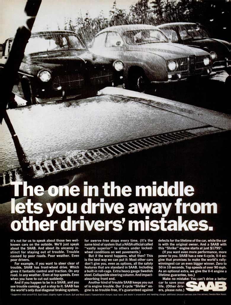Old Saab ad