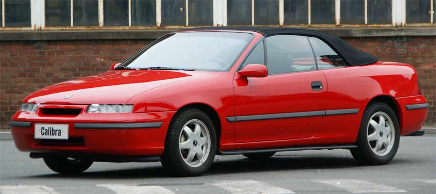 Proposal for a Calibra Cabriolet signed Valmet, in 1992