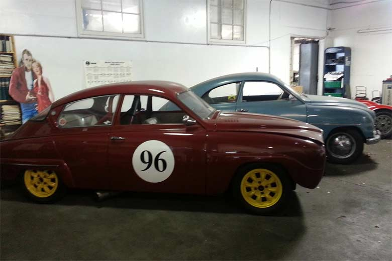 Paul Perry's Saab 96