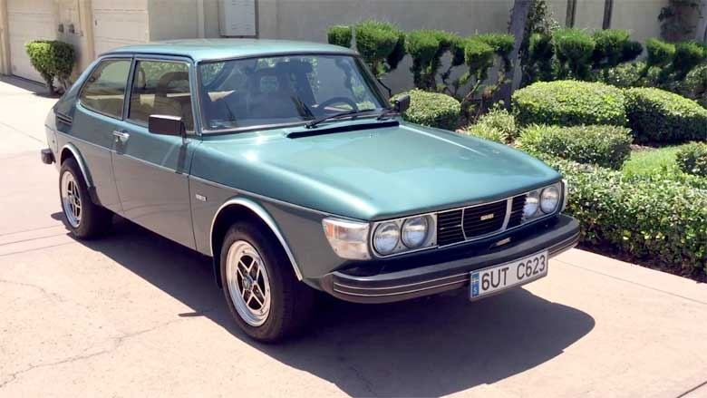 A Perfect Saab 99 GL