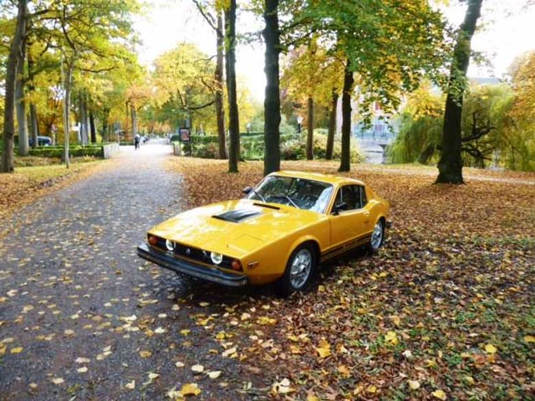 Perfect Saab Sonett III for Sale
