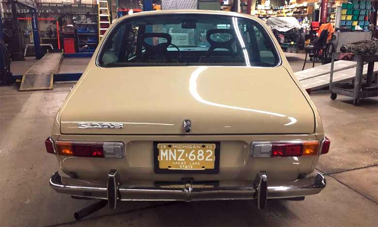 Perfect Saab 99