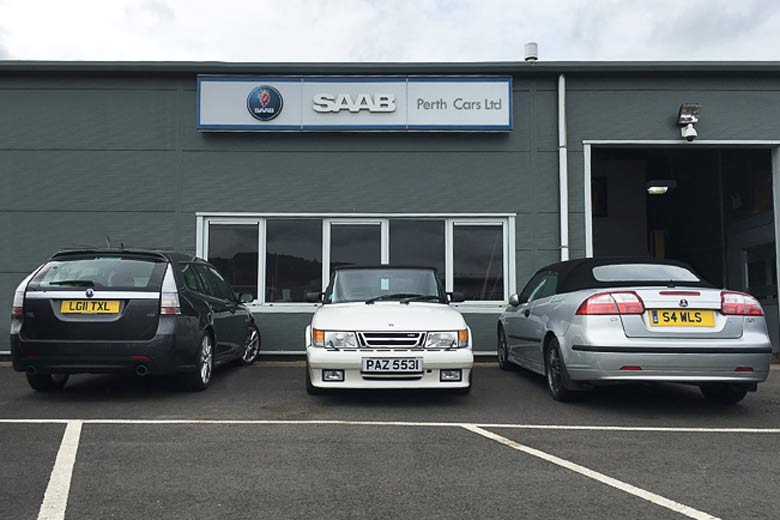 Perth Cars Saab